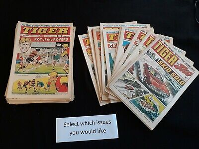 Tiger comics 1970 1971 1972 1973 in good condition - Choose issues at £2.99 each