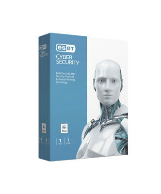 ESET Cyber Security for Mac 2020 - 1-Device / 1-Year CD - Region: North America