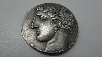 Repro Ancient Greek Coin Rare Decadrachm Sicilo -Punic Free Worldwide Shipping