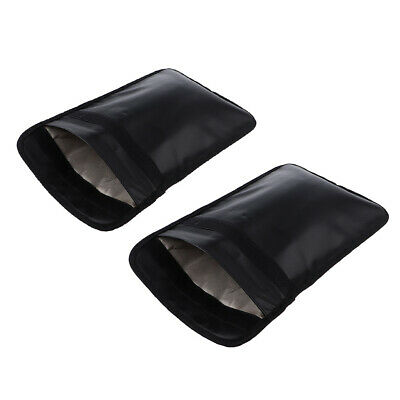 2 RFID Tablet Phone Tablet Pouch Faraday Shield Signal Blocking Car Security