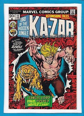 Astonishing Tales #16_February 1973_Vf Minus_Ka-Zar & Zabu_Bronze Age Marvel!