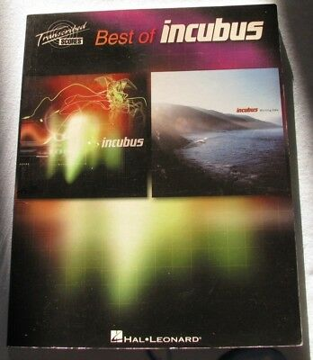 Best Of Incubus Full Band Score Guitar Tab Tablature Book Transcribed Scores