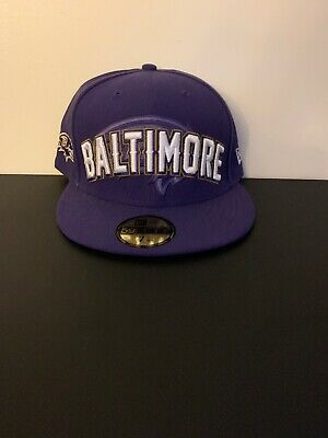 info for 3de36 b074e Baltimore Ravens New Era 2017 NFL Draft 59FIFTY Fitted Hat 7 5 8