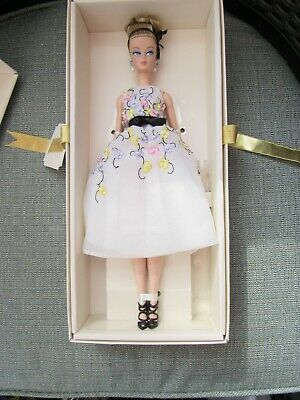 Silkstone Barbie Classic Cocktail Dress doll fashion model gold label NRFB