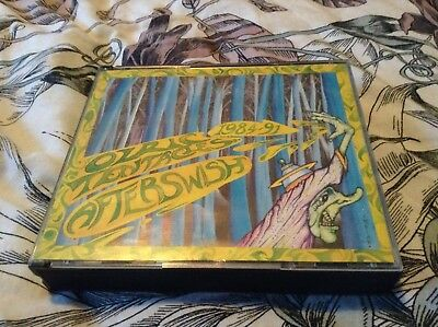 Ozric Tentacles – Afterswish Double CD Fat Box Dovetail Records – DOVECD4