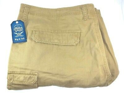 11b54ec465 Faded Glory Outpost Brown Stacked Cargo Shorts Big & Tall Men's 50 At ...