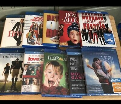 lot of 10 Blu-ray Movies Mixed Genre