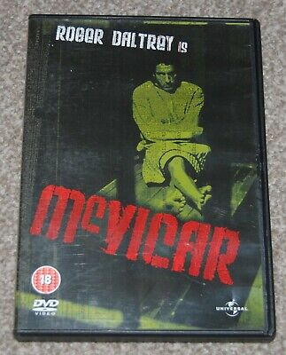 McVICAR - ROGER DALTREY & ADAM FAITH - DVD - FREE AND FAST DELIVERY