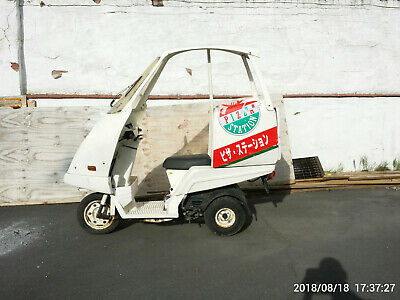 HONDA GYRO X CANOPY tilting trike retro scooter pizza promotion delivery  bike