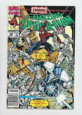 Amazing Spider-Man #360 1st Carnage Cameo (Marvel 1992) NM 9.4