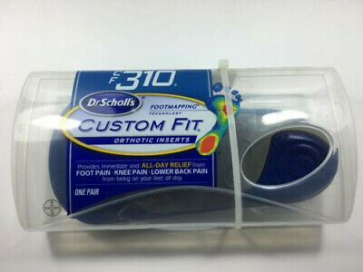 BRAND NEW: Dr. Scholl's Custom Fit Orthotic Inserts, CF310, 1 Pair