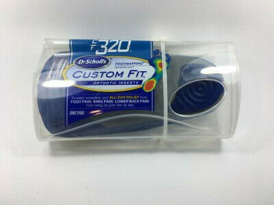 BRAND NEW Dr. Scholl's Custom Fit Orthotic Inserts, CF320, 1 Pair