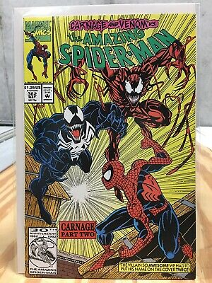 The Amazing Spider-Man #362 (May 1992, Marvel) Carnage