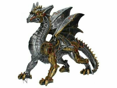 Dracus Machina 31.5cm Mechanical Dragon Fantasy Figurine by Nemesis Now