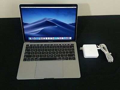 """MINT 2017 Apple MacBook Pro RETINA 13"""" TOUCH BAR 3.1 GHz i5 256 GB SSD 66 CYCLES"""