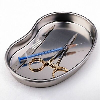 1 Pc Small Dental Stainless Steel Kidney Dish Tray Bowl For Surgical Instrument
