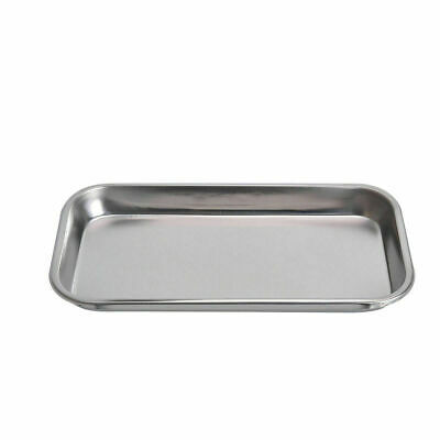 1 Pc Dental Oral Care Stainless Steel Square Plate Tray For Dentist Lab Medical