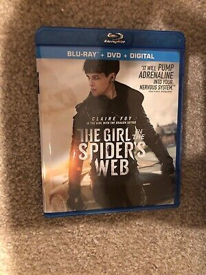 The Girl In The Spider's Web Bluray 1 Disc Set ( No Digital HD )