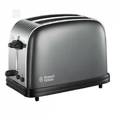 Russell Hobbs Colour Plus 2-Slice Toaster 23332 - Grey