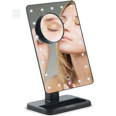 Beautify Vanity Makeup Mirror with LED Lights. Detachable 10X Magnifying...
