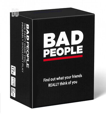 BAD PEOPLE - The Adult Party Game You Probably Shouldn't Play