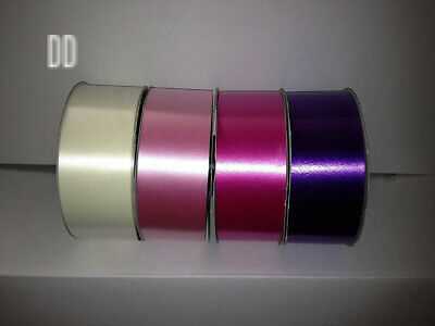 Oasis Florist Poly Ribbon Pack (4 ROLLS) - Cerise Pink, Purple, Cream and...