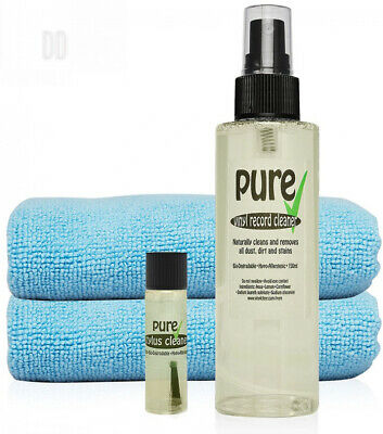 VINYL RECORD CLEANING KIT by Pure Organics. The Professional Natural,...