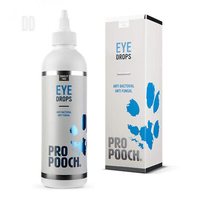 Pro Pooch Eye Drops For Dogs (250 ml) Formulated for Irritated | Itchy | Dry...