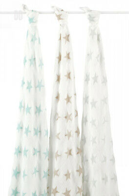 aden + anais silky soft swaddle, 100% viscose made from bamboo, 120cm X...