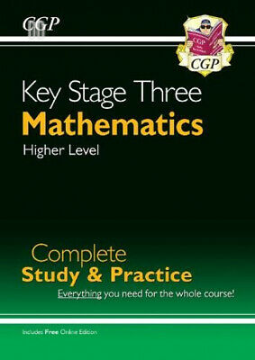New KS3 Maths Complete Study & Practice - Higher (with Online Edition) (CGP...