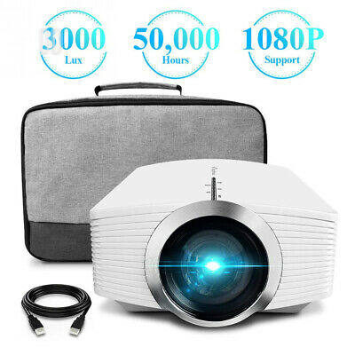 Projector, ELEPHAS (2nd Gen) Upgraded 3200 Lux LCD Video Projector with...