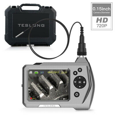 Teslong Endoscope, Handheld Industrial Borescope Inspection Camera with 1M