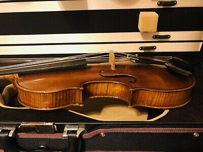 Fine Italian Labeled Violin ORESTE CANDI GENOVA 1934
