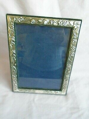 ITALIAN  925 SILVER PHOTO FRAME 21CM x 16CM IN GOOD CONDITION