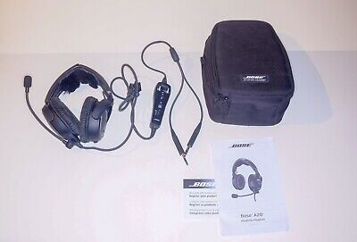 Like New Bose a20 aviation headset bluetooth