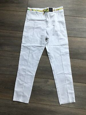Girls M&S White Trousers Size 10-11yrs