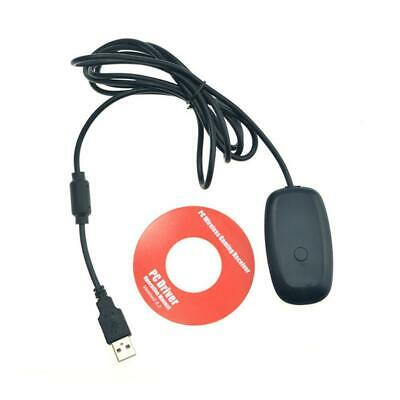 PC Wireless Controller Gaming Receiver Adapter USB 2.0 For Microsoft XBOX 360