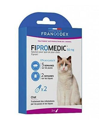 Fipromedic 50mg Solution Pour Spot On Chats - 4 Pipettes Chat