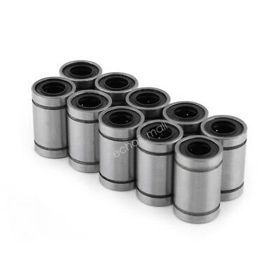 10pcs LM8UU 8mm Linear Bush Ball Bearing Bushing For Reprap Prusa 3D Printer coi