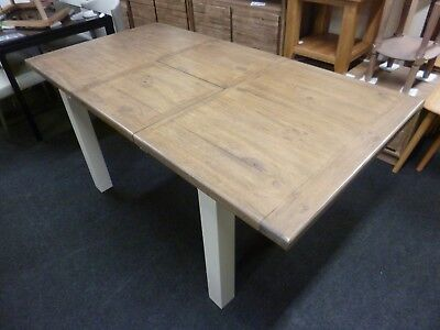 New Chunky Reclaimed Wood Extending Dining Table 1.2-1.65M *Furniture Store*