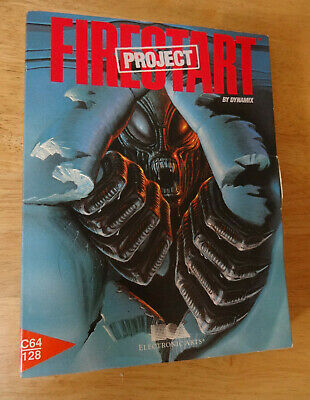 Project Firestart - Commodore 64/128 Sci-fi Horror Game by Dynamic - Box Only