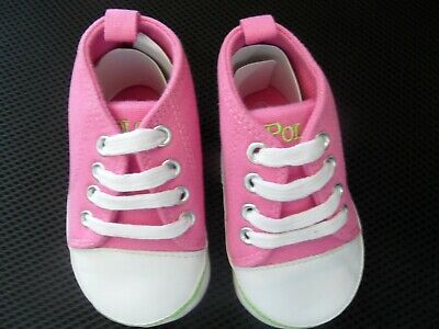 NWOT POLO Baby Pink Shoes Size UK 3 Look!