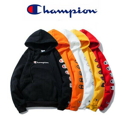 Men Womens Tops Champion Sweatshirt Hoodies Sport Hooded Pullover Jacket Outwear