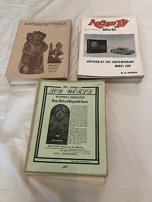 57 x Copies The Antique Toy World 1971 to 1980