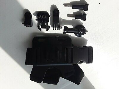 Action camera accessories kit/ body mount with few attachments
