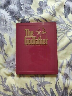 godfather trilogy blu ray steelbook