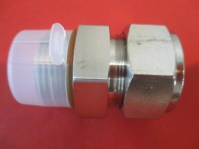 """A-lok male connector 1"""" tube x 1-5/16-12 SAE straight, Parker 16M1SC16-316-VO"""