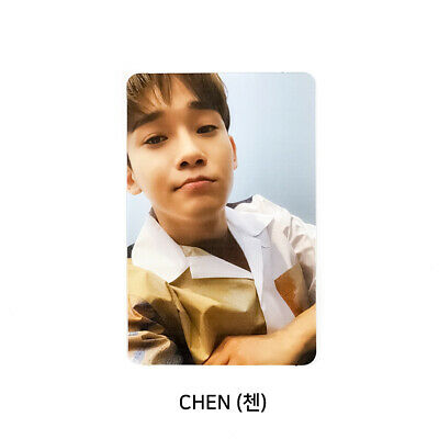 EXO CHEN - 1st Mini Album : April, and a flower Official Photocard Flower Ver. B