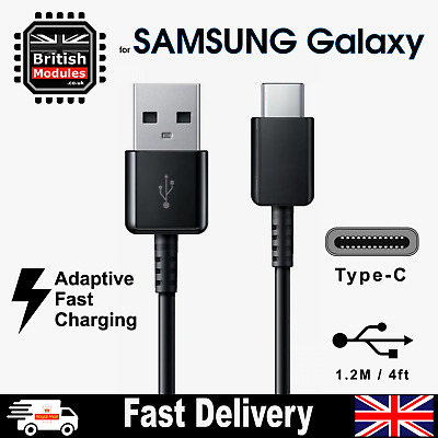 Fast Charger USB Type-C Cable for Samsung Galaxy S9 Cable Sync Charging Lead
