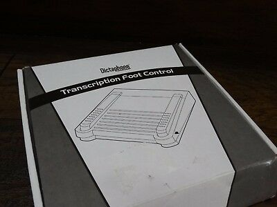 20090 NEW Dictaphone Transcription Foot Control Pedal RJ11 # 0502765 new in Box